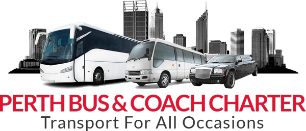 logo bus hire perth western australia coach charter