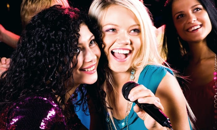 Karaoke for your special day out